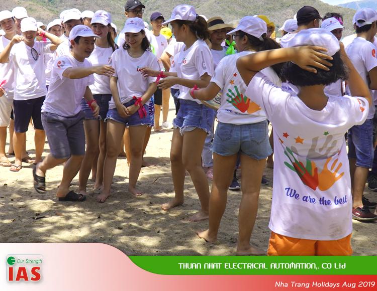 Team Building at Nha Trang Beach 2019