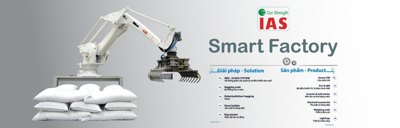 Robot xếp bao tự động - Solution IAS