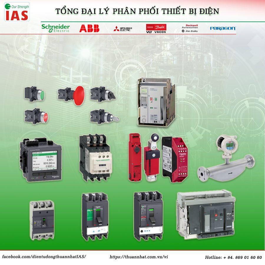 Tổng đại lý phân phối thiết bị điện - Solution IAS