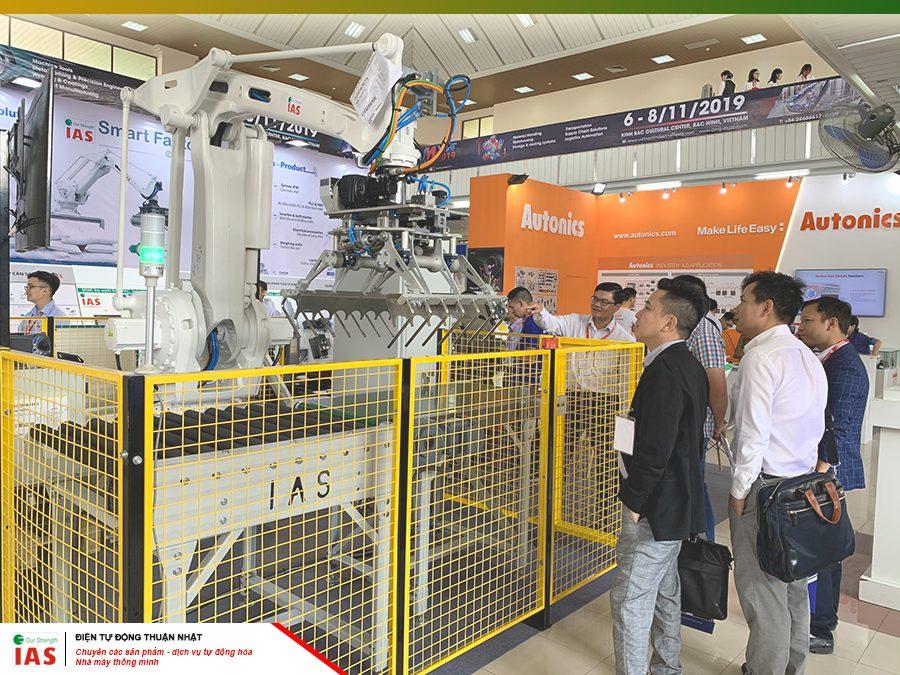Thuận Nhật, tự hòa đem Robot công nghiệp tới gần hơn với các doanh nghiệp Việt